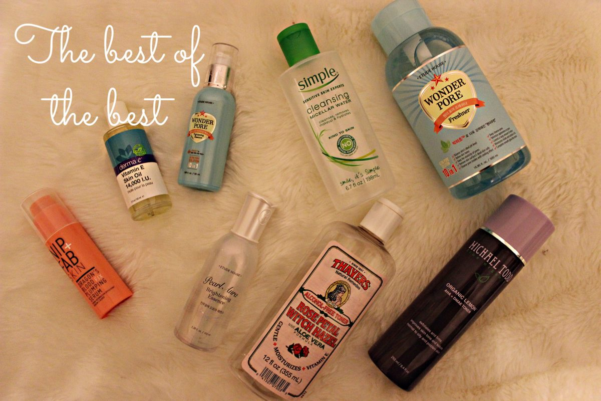Best of Skin Care 2015: Part 1