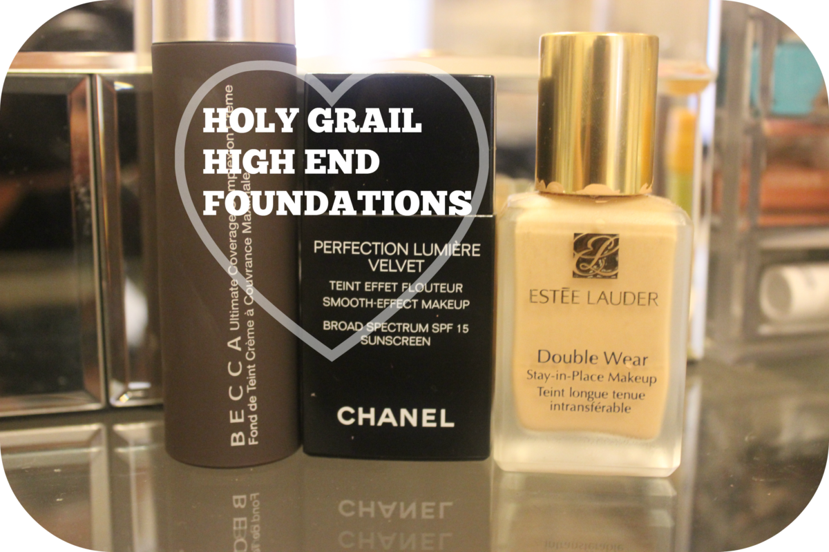 My Top 3 Holy Grail High End Foundations